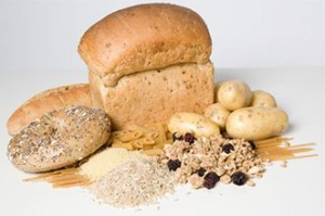 photo of foods rich in carbs