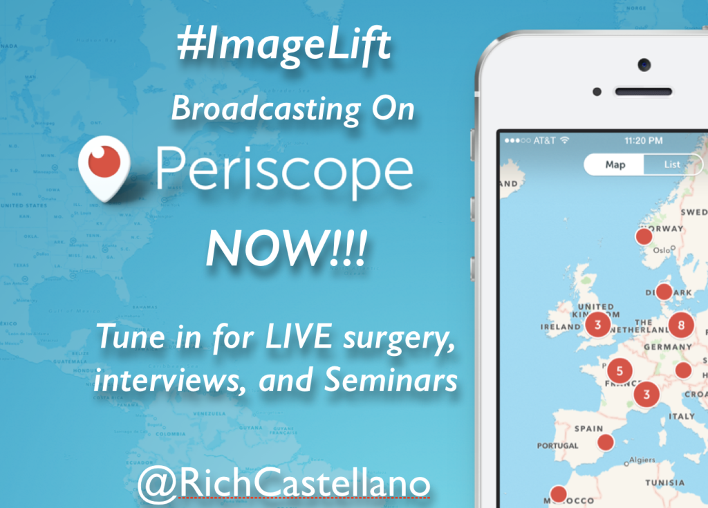 ImageLift Broadcasting on Periscope Now!!!
